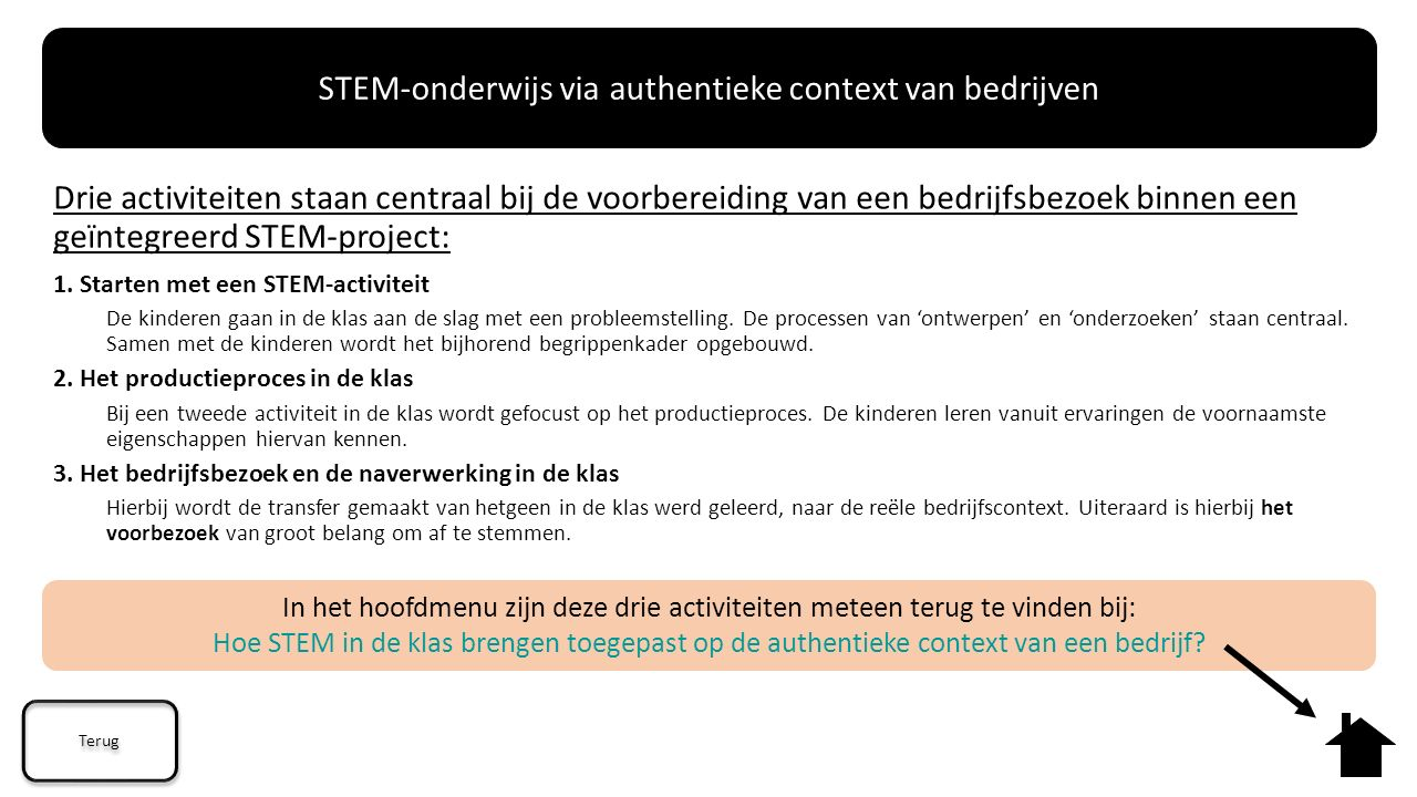 STEM-onderwijs via authentieke context van bedrijven