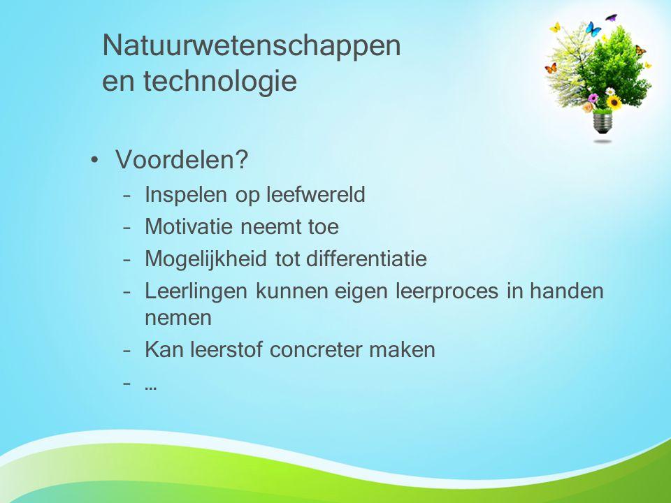 Natuurwetenschappen en technologie
