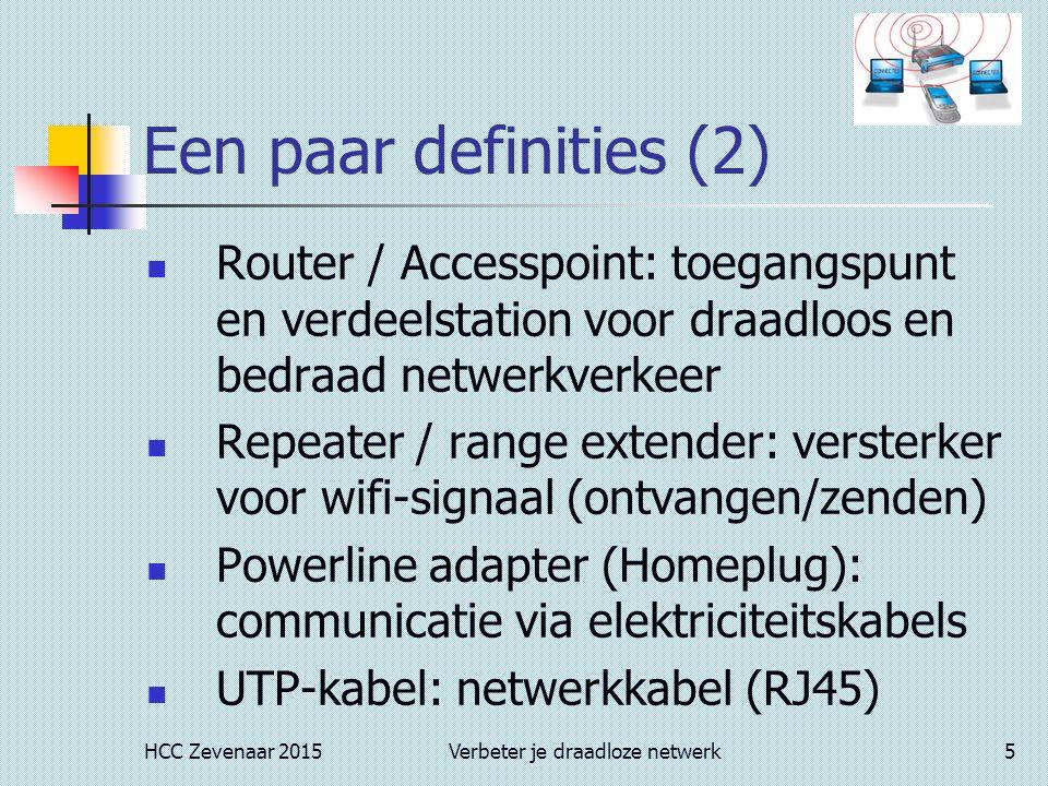 Verbeter je draadloze netwerk.
