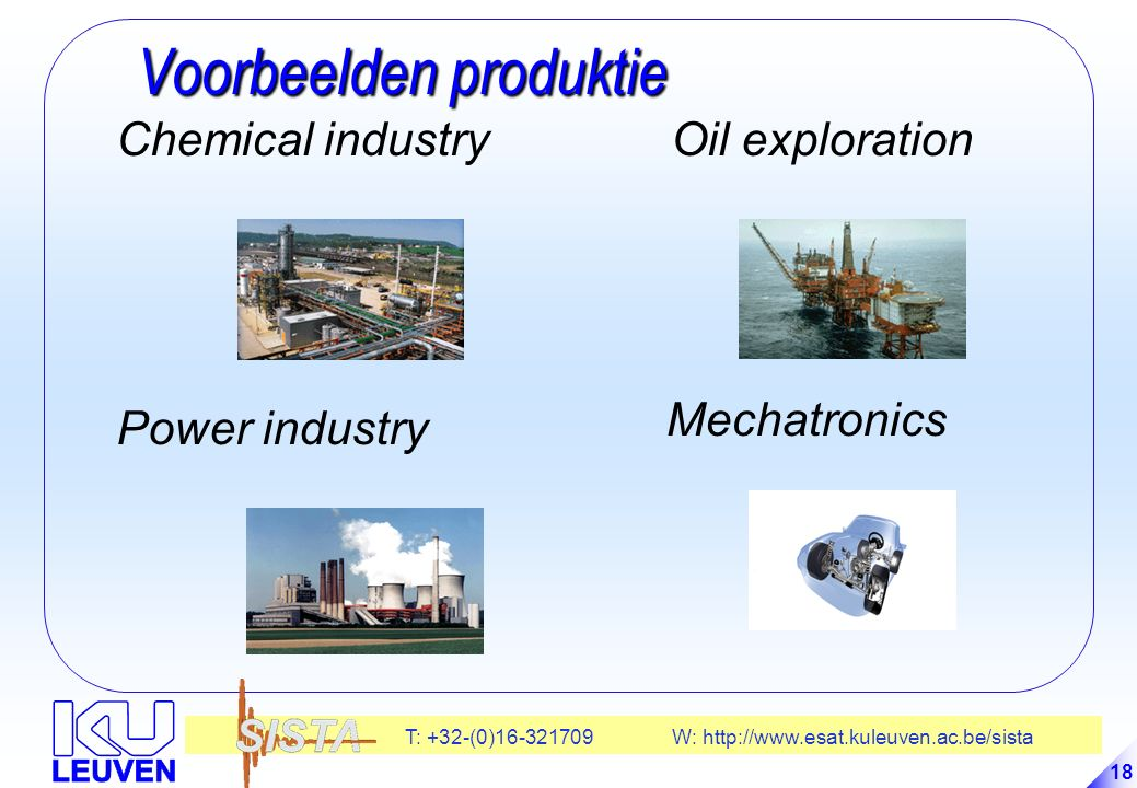 Voorbeelden produktie