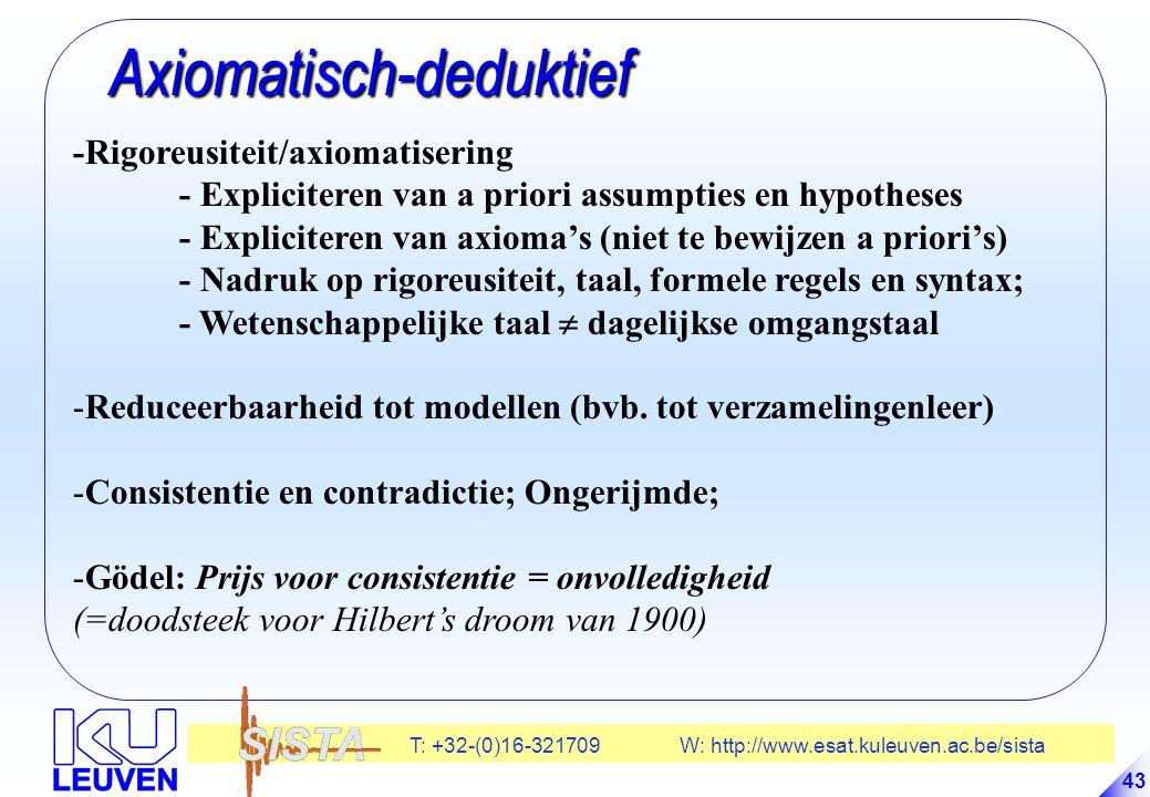 Axiomatisch-deduktief