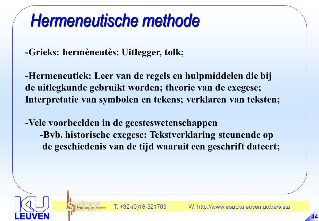Hermeneutische methode