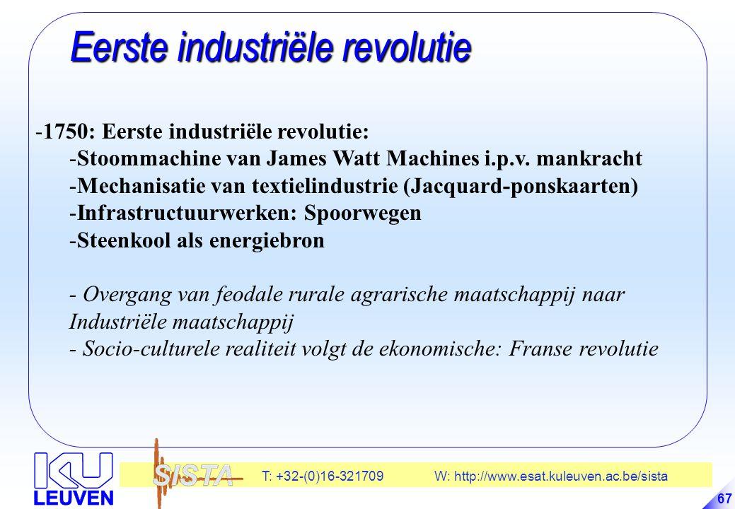 Eerste industriële revolutie