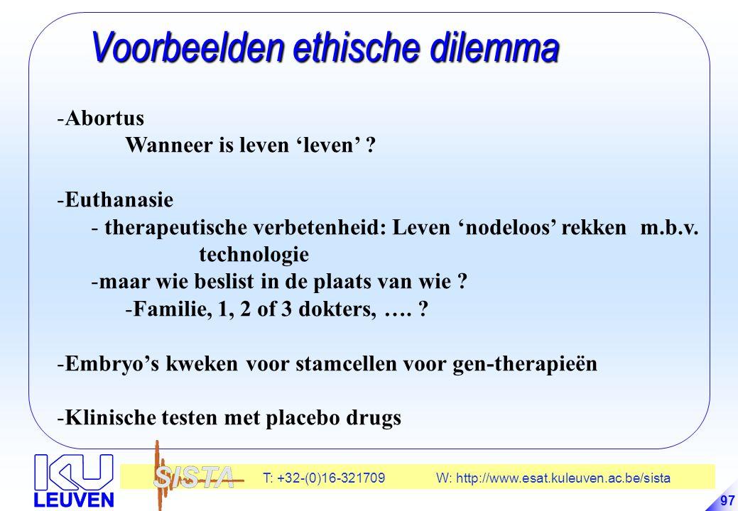 Voorbeelden ethische dilemma