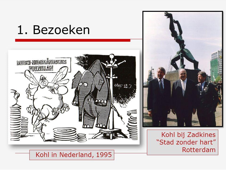 1. Bezoeken Kohl bij Zadkines Stad zonder hart Rotterdam