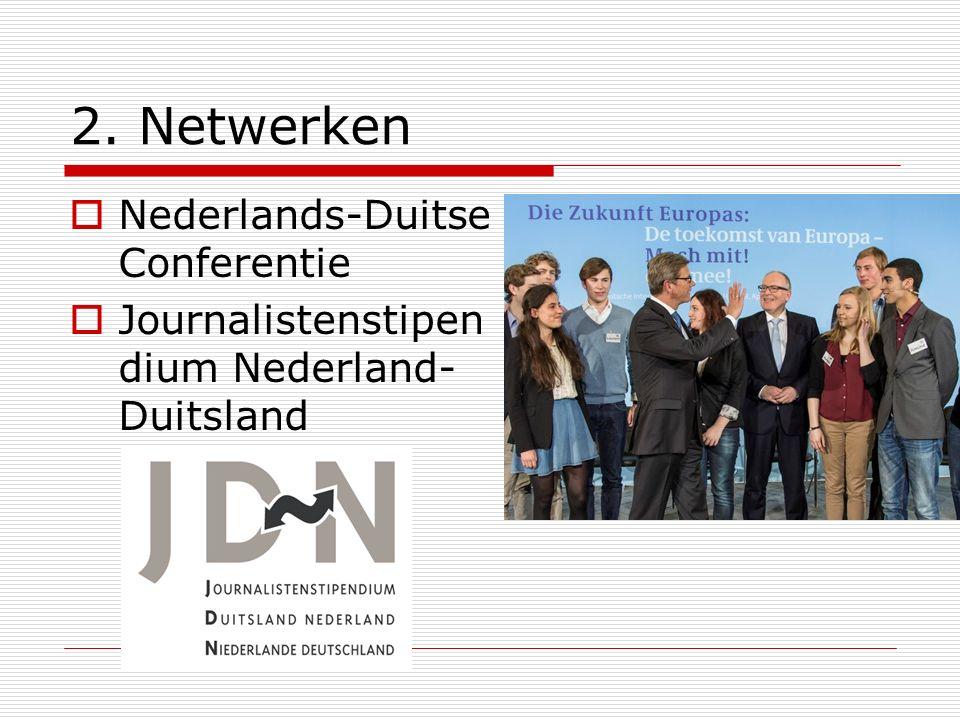 2. Netwerken Nederlands-Duitse Conferentie