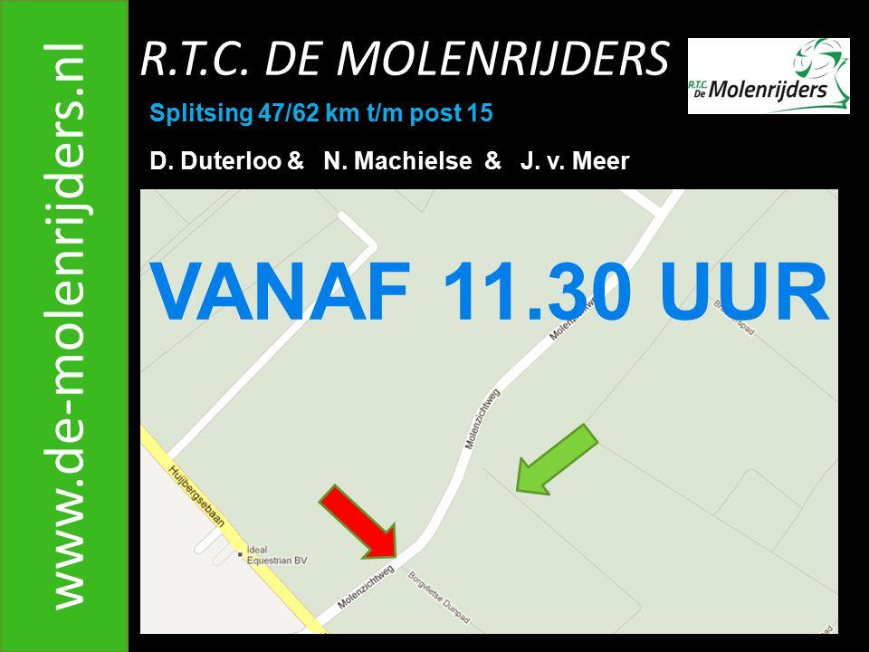 VANAF 11.30 UUR www.de-molenrijders.nl R.T.C. DE MOLENRIJDERS
