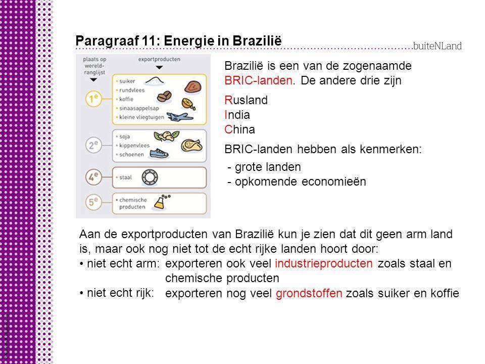 Paragraaf 11: Energie in Brazilië