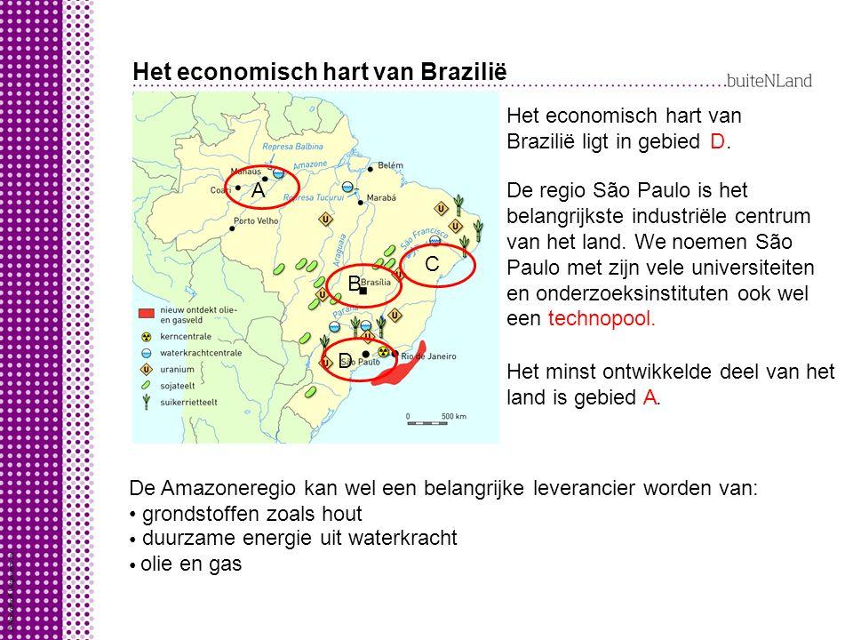 Het economisch hart van Brazilië
