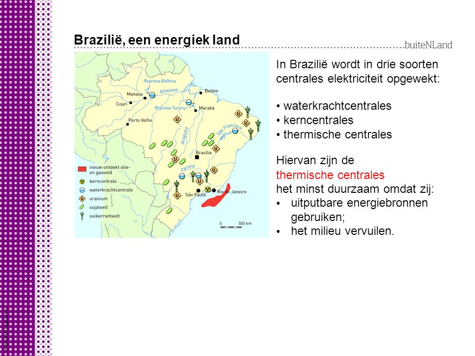 Brazilië, een energiek land