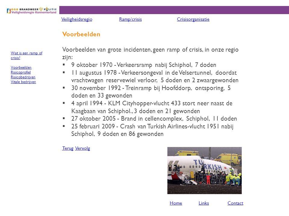 9 oktober 1970 - Verkeersramp nabij Schiphol, 7 doden