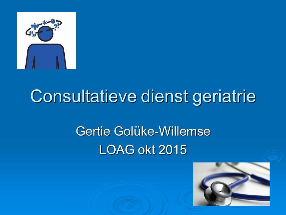 Consultatieve dienst geriatrie