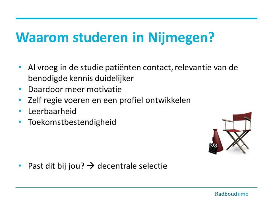Waarom studeren in Nijmegen