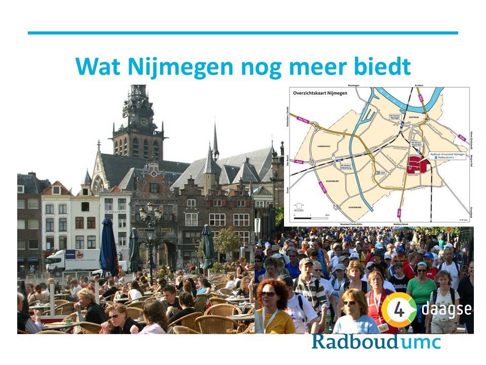 Wat Nijmegen nog meer biedt