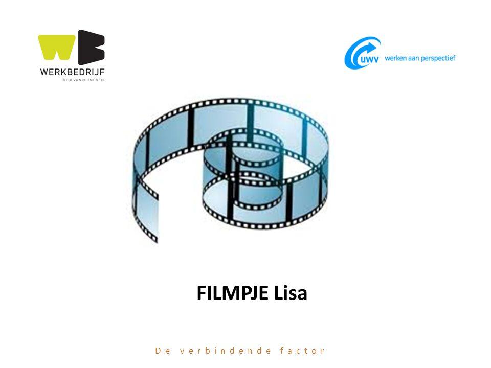 FILMPJE Lisa De verbindende factor