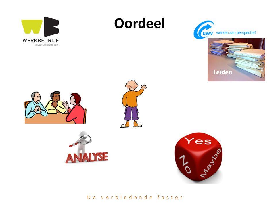 Oordeel Leiden De verbindende factor