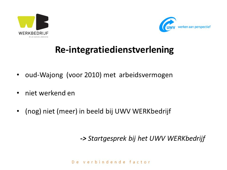 Re-integratiedienstverlening