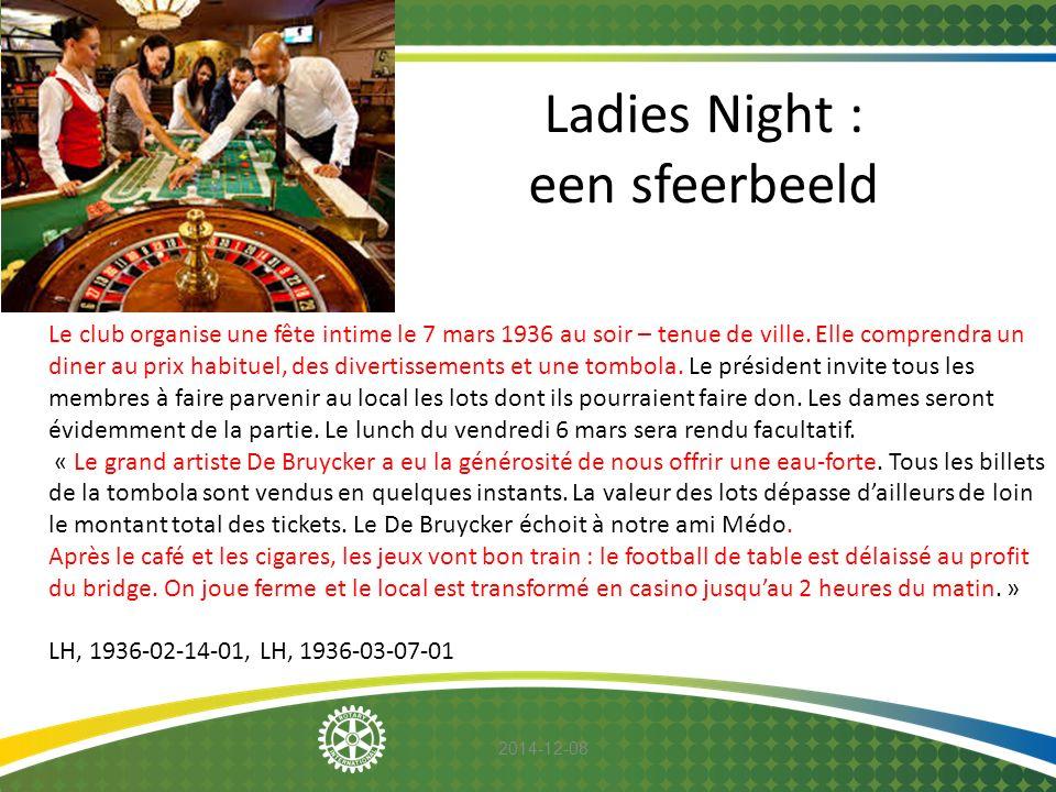 Ladies Night : een sfeerbeeld