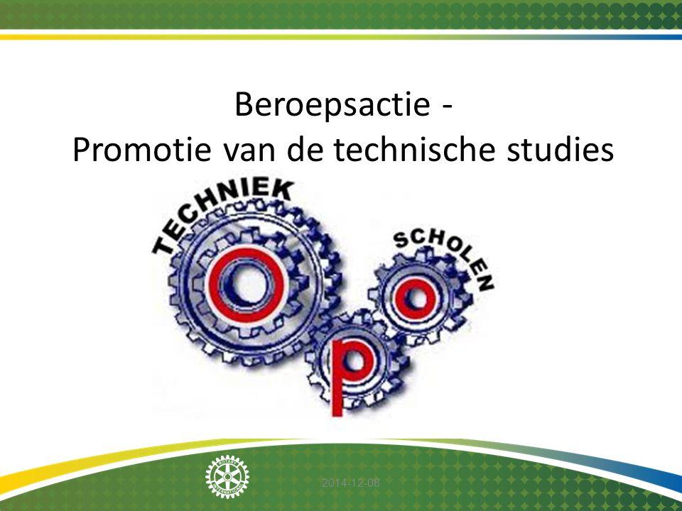 Promotie van de technische studies