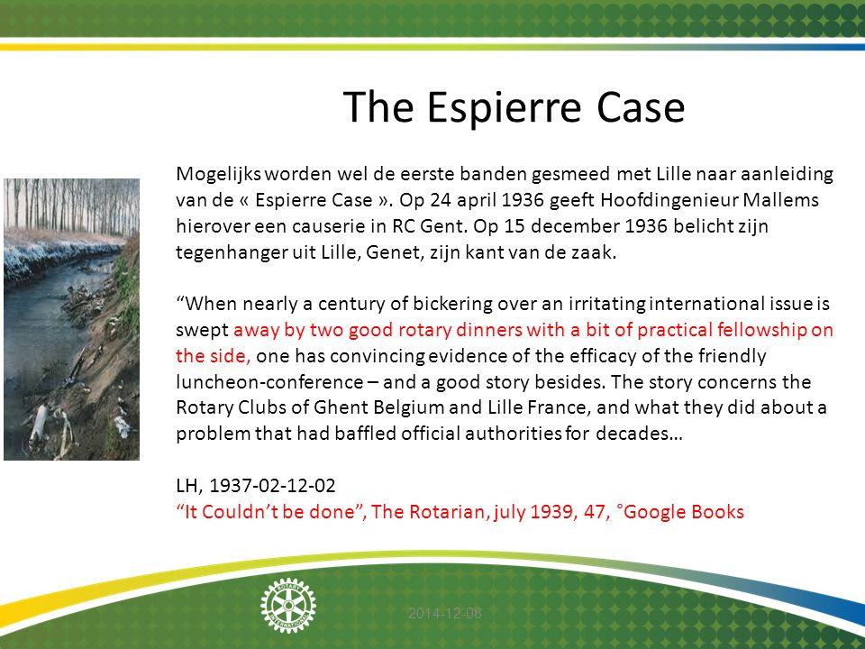 The Espierre Case