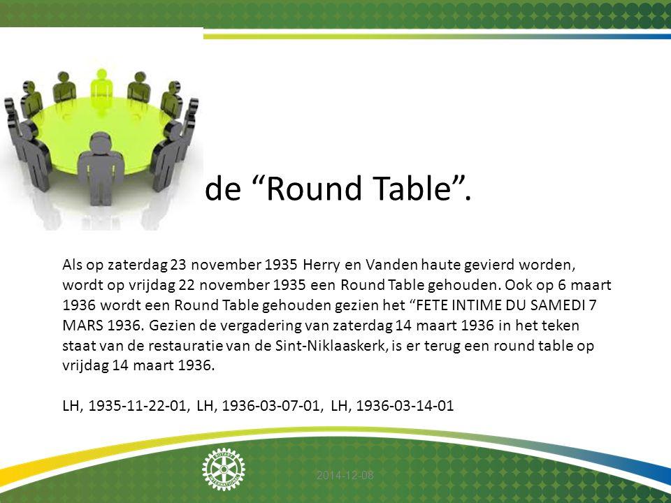 de Round Table .