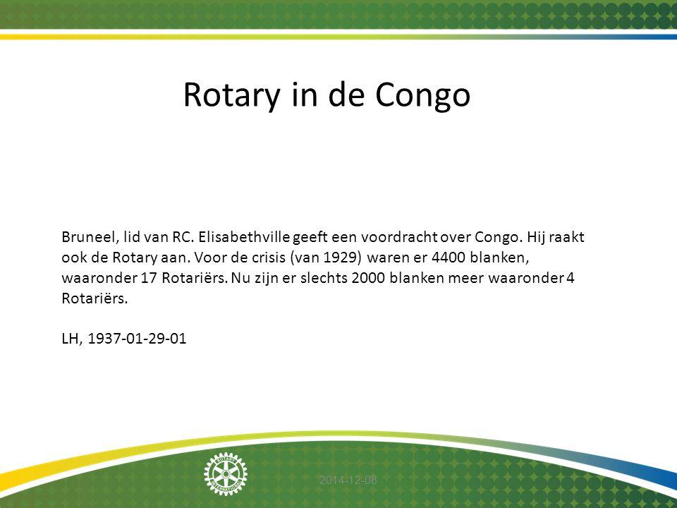 Rotary in de Congo