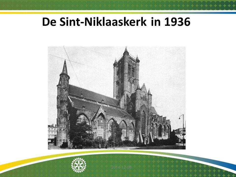 De Sint-Niklaaskerk in 1936