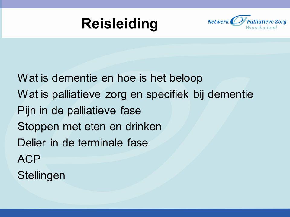 Reisleiding Wat is dementie en hoe is het beloop