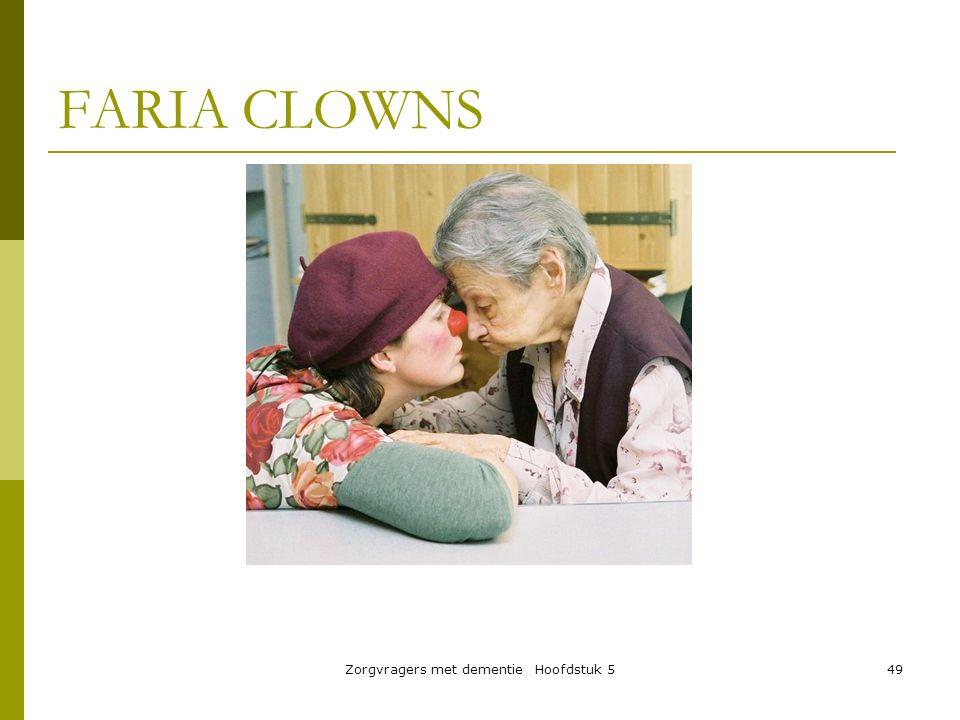 Zorgvragers met dementie Hoofdstuk 5