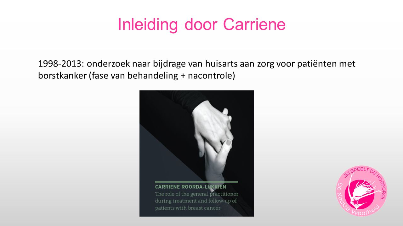 Inleiding door Carriene