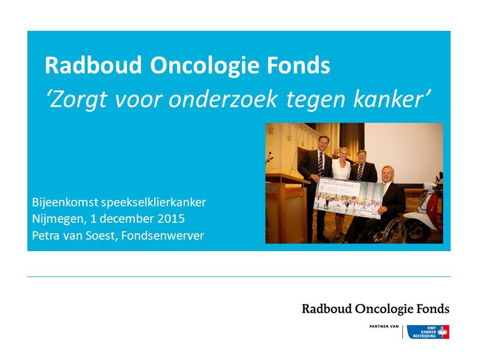Radboud Oncologie Fonds