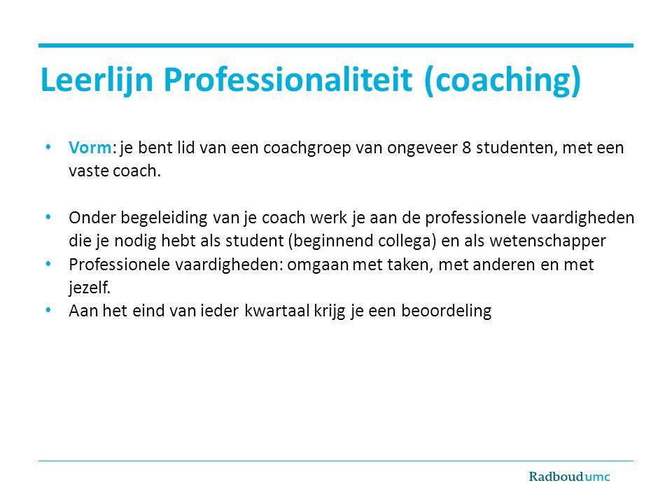 Leerlijn Professionaliteit (coaching)