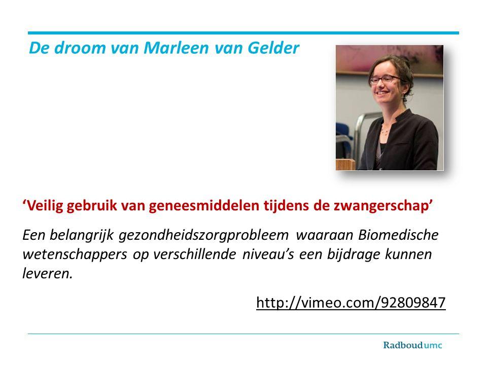 De droom van Marleen van Gelder