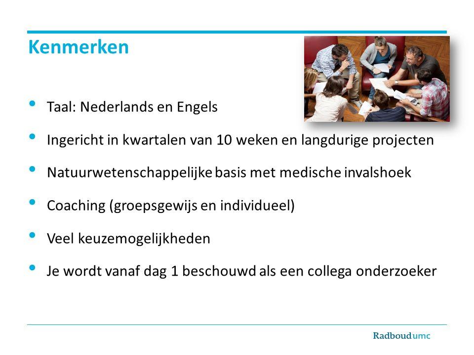 Kenmerken Taal: Nederlands en Engels