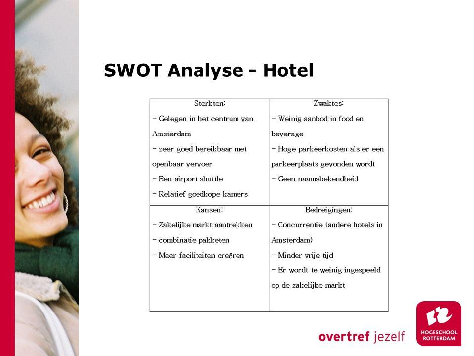SWOT Analyse - Hotel