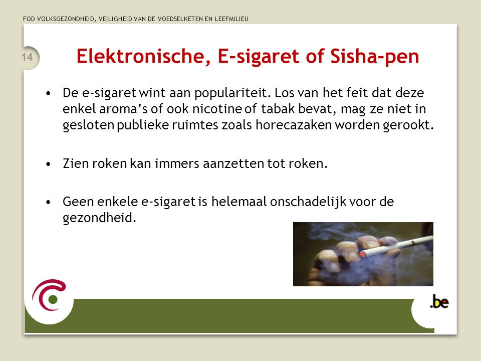 Elektronische, E-sigaret of Sisha-pen
