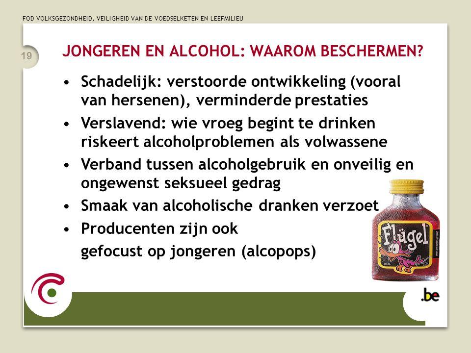 JONGEREN EN ALCOHOL: WAAROM BESCHERMEN