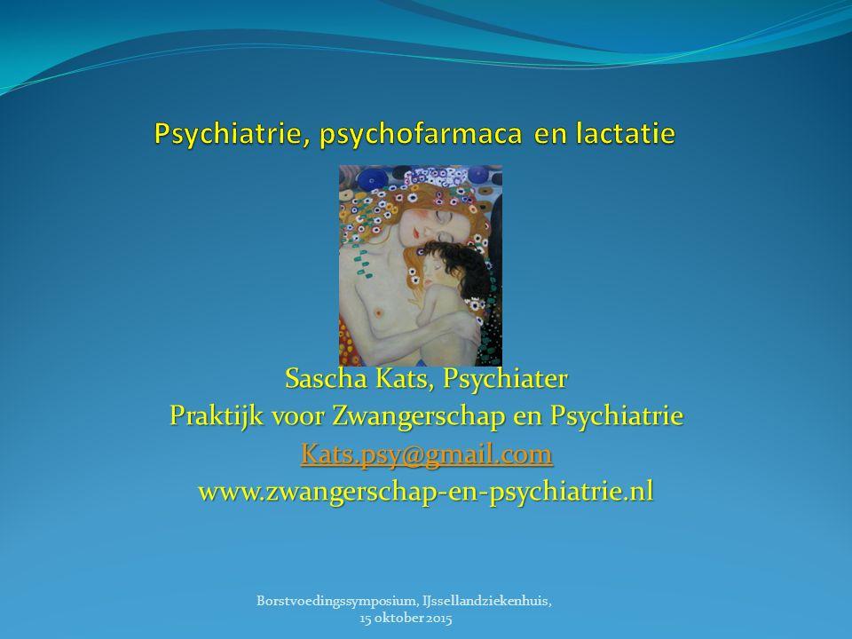 Psychiatrie, psychofarmaca en lactatie