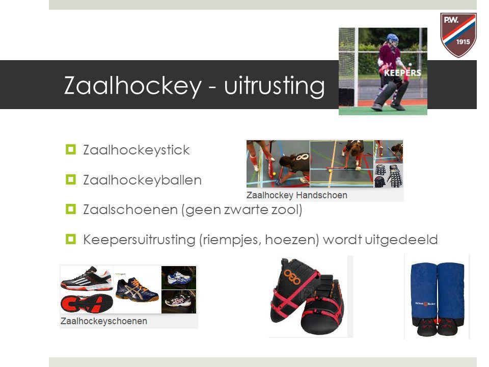 Zaalhockey - uitrusting