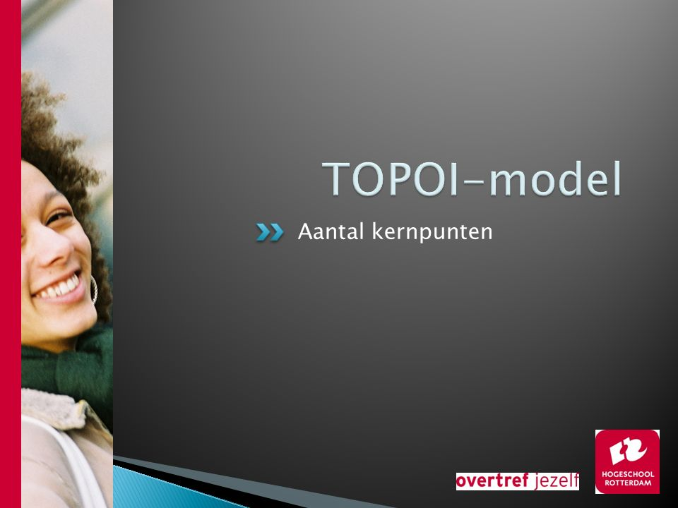TOPOI-model Aantal kernpunten