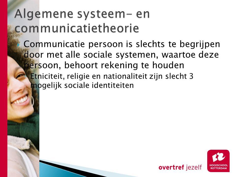 Algemene systeem- en communicatietheorie