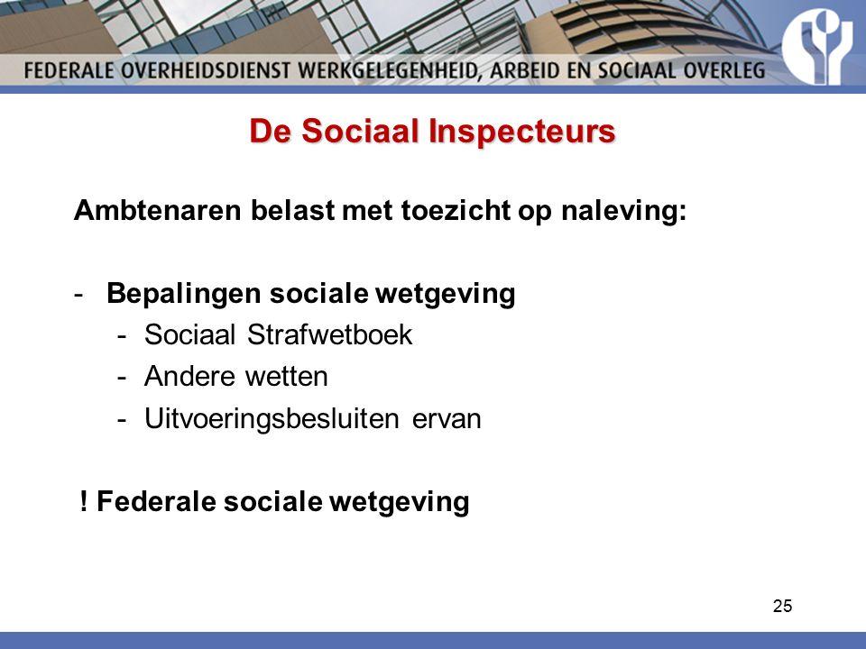 De Sociaal Inspecteurs