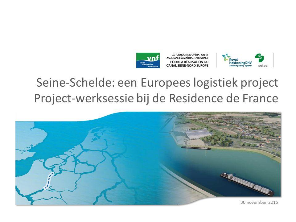 Seine-Schelde: een Europees logistiek project Project-werksessie bij de Residence de France