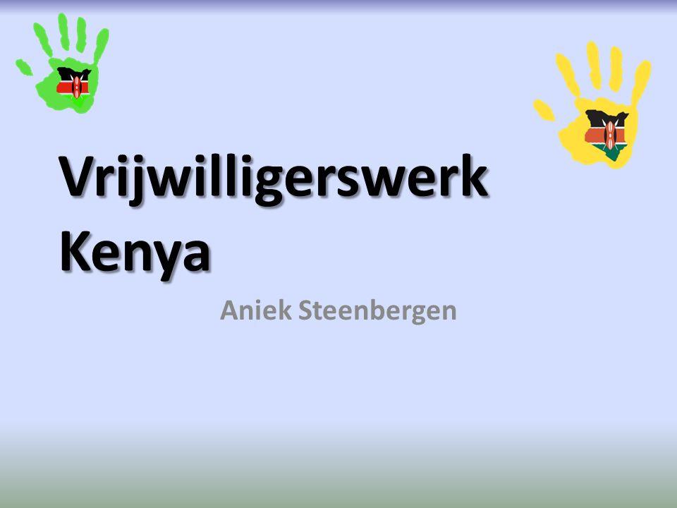 Vrijwilligerswerk Kenya