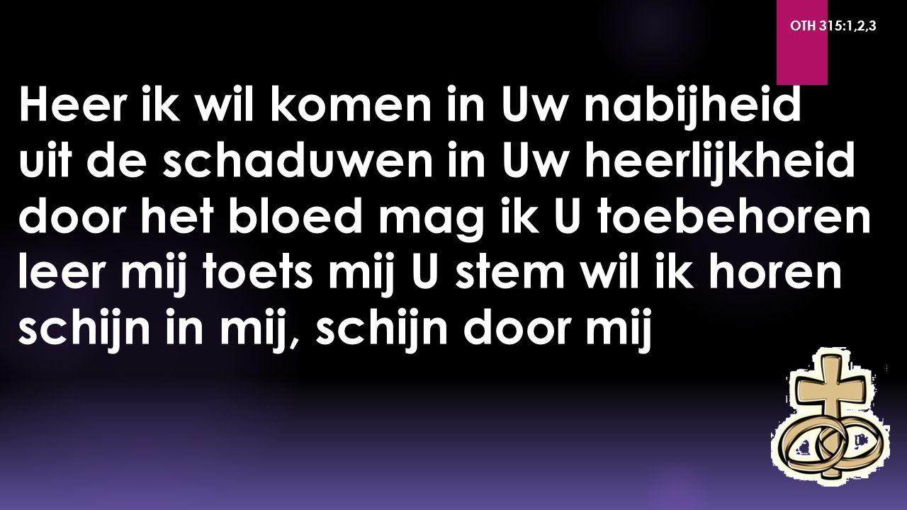 OTH 315:1,2,3