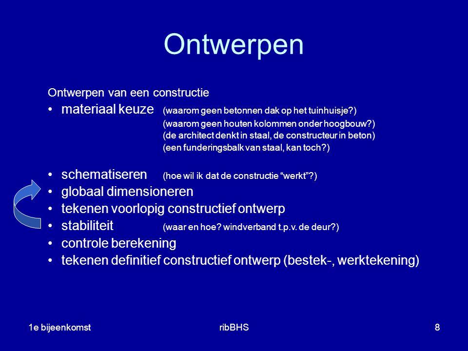 Ontwerpen Ontwerpen van een constructie. materiaal keuze (waarom geen betonnen dak op het tuinhuisje )
