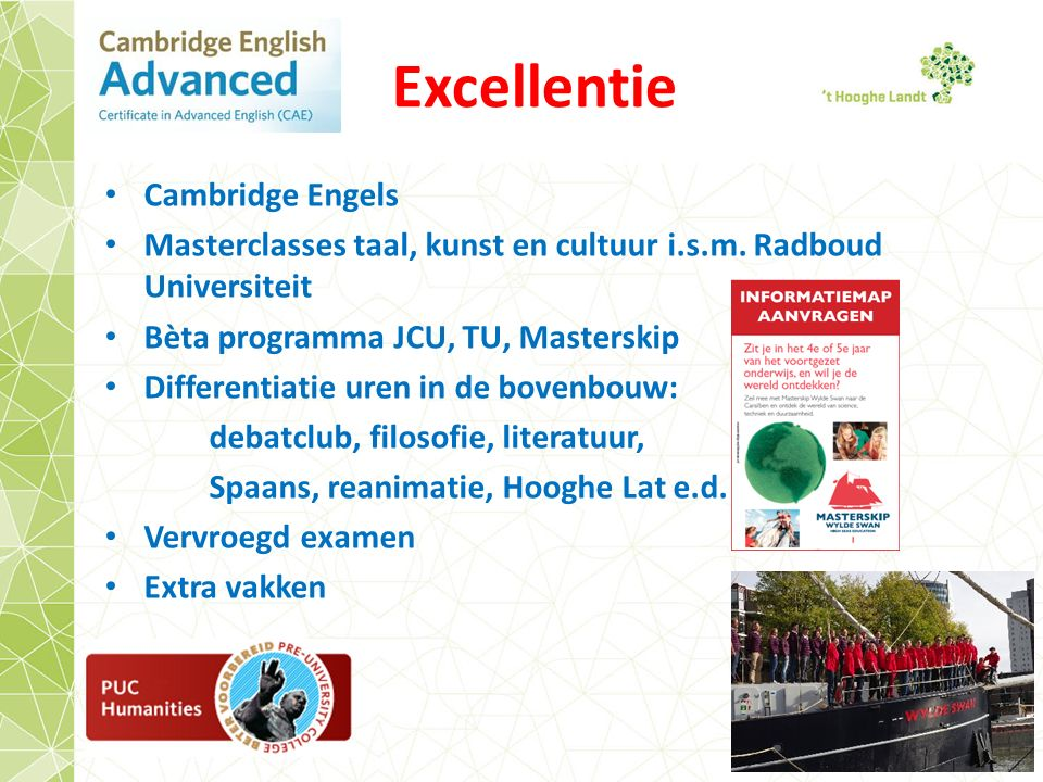 Excellentie Cambridge Engels