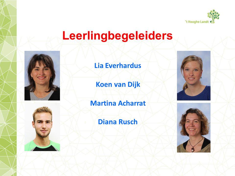 Lia Everhardus Koen van Dijk Martina Acharrat Diana Rusch