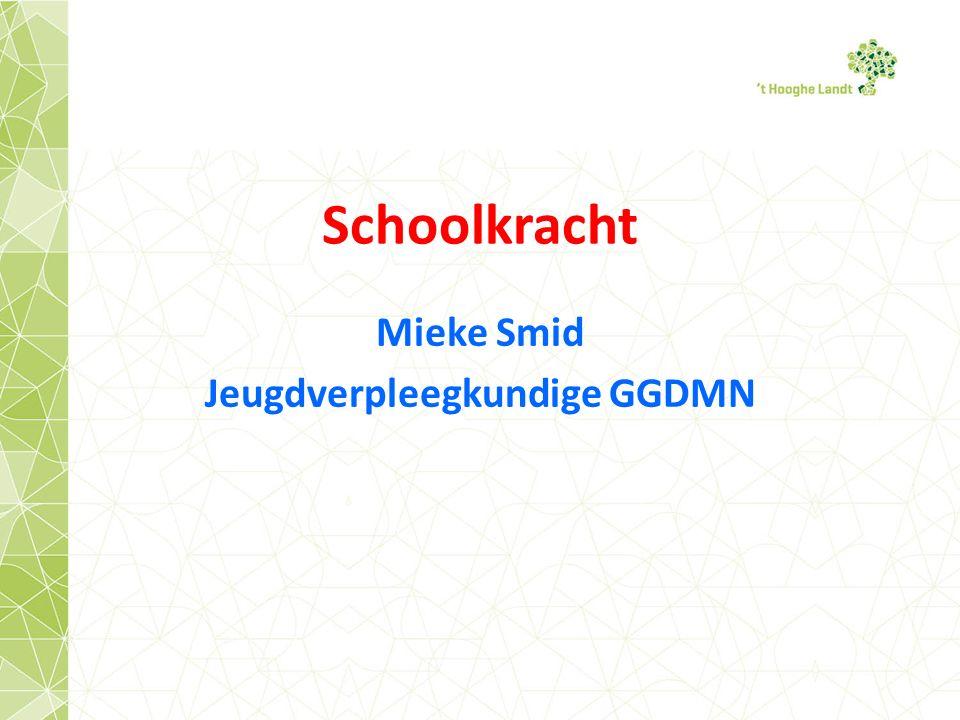 Mieke Smid Jeugdverpleegkundige GGDMN