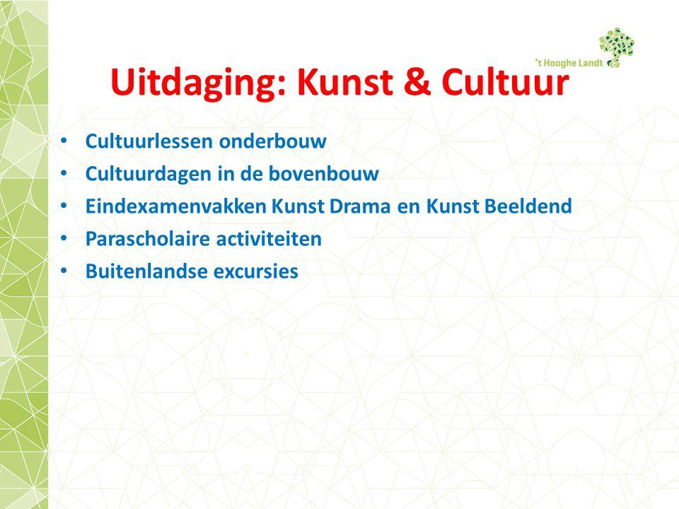 Uitdaging: Kunst & Cultuur